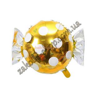 Фольговані кульки, форма: фігура Цукерка, 18 дюймів/45 см, 1 штука