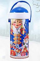 """Новогодняя упаковка для конфет и подарков """"Снегурочка"""""""