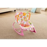 Массажное кресло-качалка (до 18 кг) Fisher-Price, 2 вида, 0+