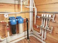 Монтаж систем водоснабжения и очистки воды