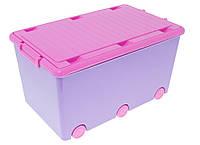 Ящик для игрушек Tega Chomik MIX  IK-008 (фиолетовый/розовый(violet/pink))