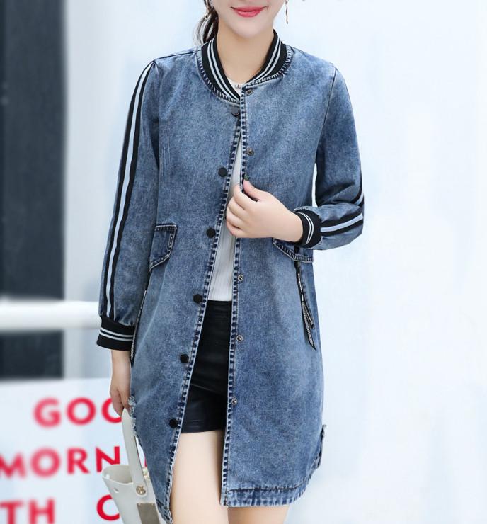 Женская джинсовая куртка СС7648