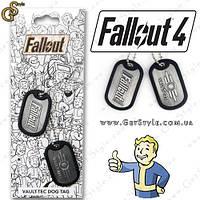 "Жетоны на шею Fallout - ""Vault Tags"""