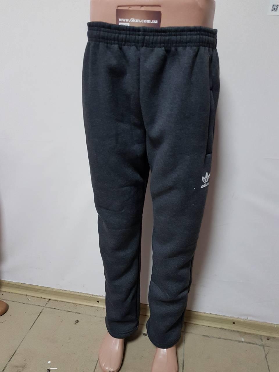 43bd9c748937 Мужские штаны на флисе серые Adidas Турция: продажа, цена в Одессе.  спортивные штаны ...