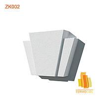 ЗАМКОВЫЙ КАМЕНЬ ZK002, размер 240 х 290 х 70 мм