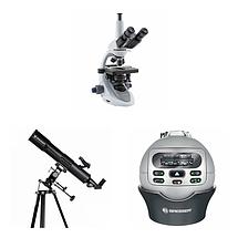 Телескопы, микроскопы, планетарий и аксессуары