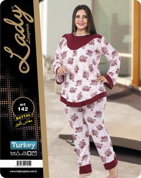 f89ff05c28297 Пижама Больших Размеров LADY TEXTILE 142 — в Категории