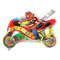 Фольгированные воздушные шары, форма: фигура мотоцикл, 22 дюйма/62 см, 1 штука