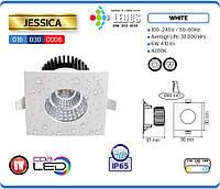 Точковий світильник JESSICA 6W 4200K IP65 (захищений від вологи) HOROZ ELECTRIC