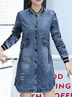 Женская джинсовая куртка Pianо РМ7648