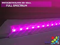 Світлодіодний фітосвітильник для рослин, T8, 8 Вт, 60 см