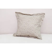 Подушка декоративная  Горох-Лаванда с ушками 40х40 см