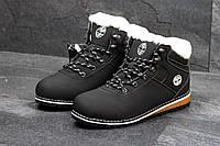 Зимние ботинки женские Baas (черные), ТОП-реплика , фото 1