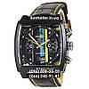 Часы Tag Heuer Monaco 45мм Calibre 36 Automatic Black/Yellow (Механика). Реплика