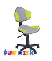 Детское  кресло FunDesk LST3 Green - Grey, фото 1
