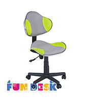 Детское  кресло FunDesk LST3 Green - Grey