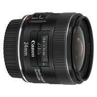 Объективы Canon EF 24mm f/2.8 IS USM