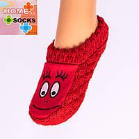 Детские вязаные следы с тормозами Home socks 8191-1. 1 пара.