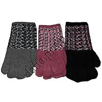 Женские вязаные перчатки T6072 оптом в Одессе