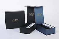 Элитный подарочный набор мужских носков в картонной коробке на 15 пар. Цвет -черный