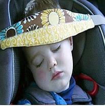 Мягкий ремешок для безопасного сна в автокресле автосплюша