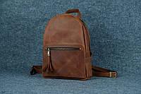 Женский кожаный рюкзак Лимбо | Винтажный Коньяк, фото 1