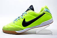 Бутсы для футзала Nike Tiempo Mystic, Lime green