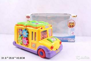 Развивающая игрушка Забавный автобус