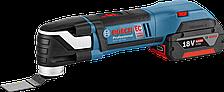 Аккумуляторный универсальный резак Bosch GOP 18 V-EC Professional (4 А/ч, 20000 об/мин)