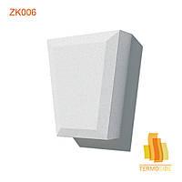 ЗАМКОВЫЙ КАМЕНЬ ZK006, размер 350 х 300 х 100 мм