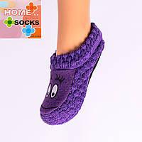 Детские вязаные следы с тормозами Home socks 8191-6. 1 пара.