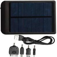 Портативная солнечная батарея для зарядки телефонов, смартфонов, планшетов Power Bank 25000 mAh