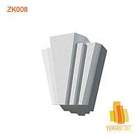 ЗАМКОВЫЙ КАМЕНЬ ZK008, размер 270 х 245 х 90 мм