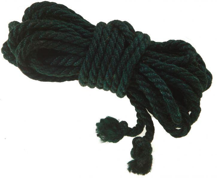 Веревка для связывания зеленая