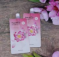 Маска пленка Missha Pure Source Pocket Pack - Lotus Flower
