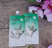 Ночная маска с чайным деревом Missha Pure Source Pocket Pack - Tea Tree