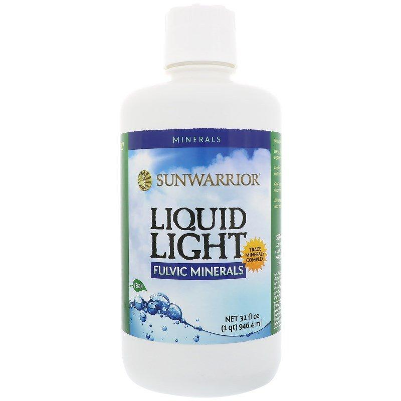 Фульвові мінерали, Fulvic Minerals Liquid Light Sunwarrior, 947мл