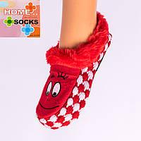 Детские вязаные следы с тормозами Home socks 8192-2. 1 пара. 17 см.