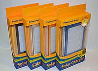 Внешний аккумулятор c LED Power bank solar 25000 mAh