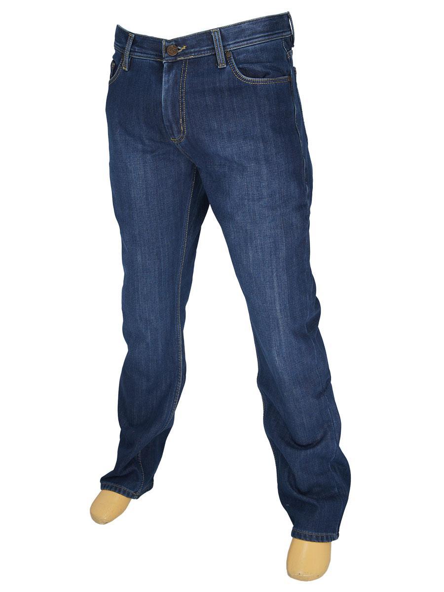 Мужские джинсы Activator 105 Ast в синем цвете на флисе