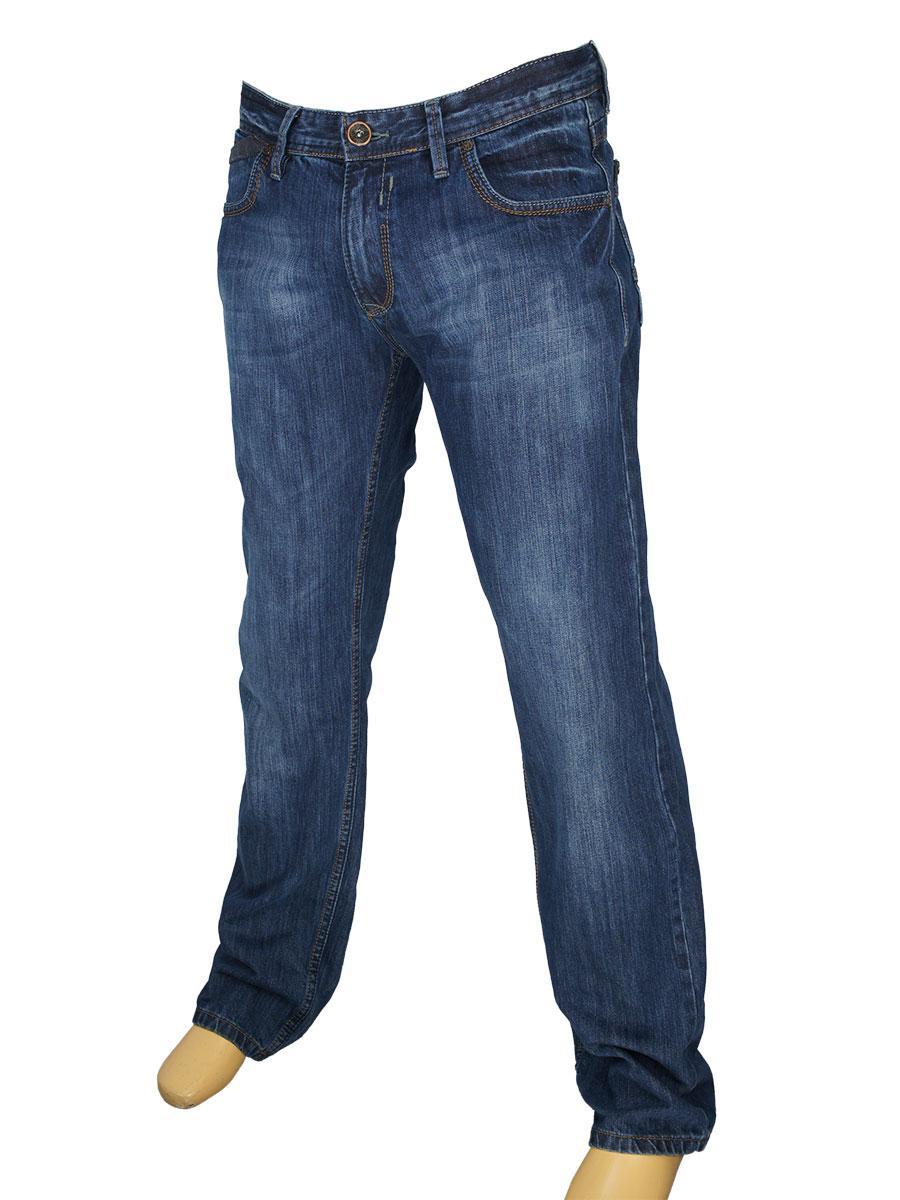 Мужские джинсы X-Foot 140-1534 в темно-синем цвете