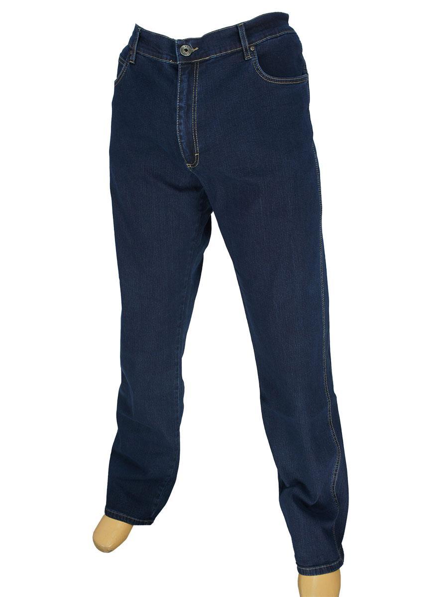 Темно-синие мужские джинсы Lexus 615 P/4317 в большом размере