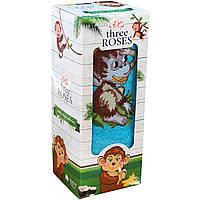 Полотенца с обезьянкой Турция 50х90 см в подарочной упаковке