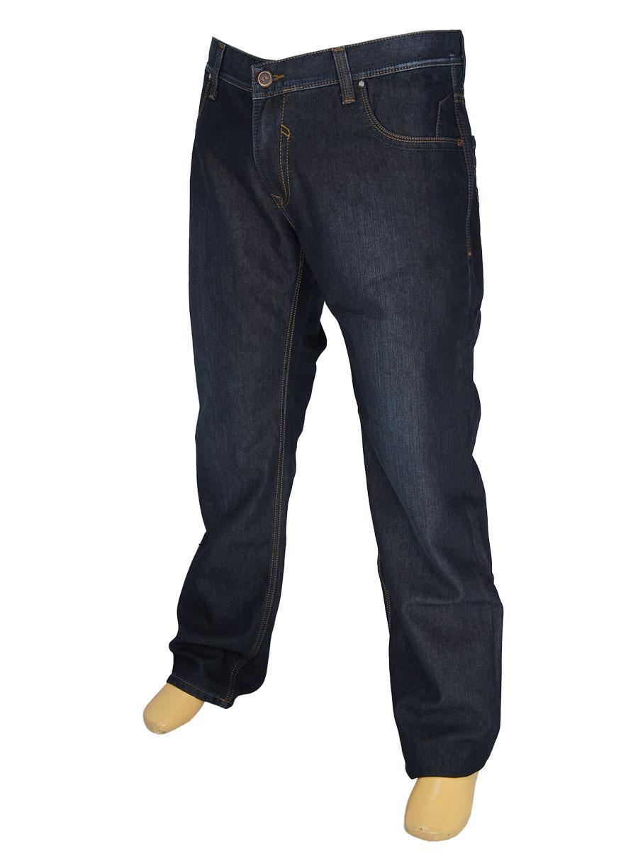 Мужские темно-синие джинсы X-Foot 140-1581 большого размера