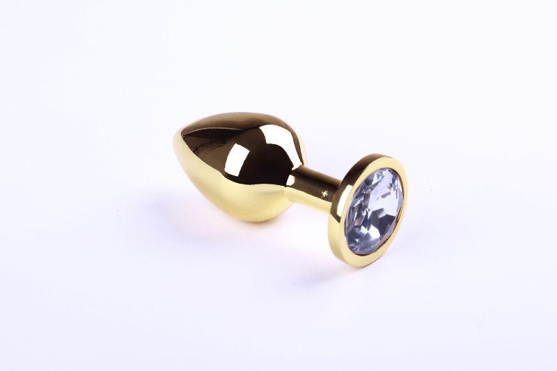 Анальная пробка,Gold Diamond,M