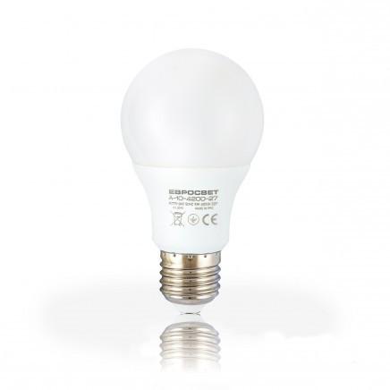 Світлодіодна лампа Евросвіт A-10-3000-27 10W 3000K E27 220V