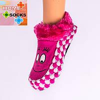 Детские вязаные следы с тормозами Home socks 8192-5. 1 пара. 16 см.