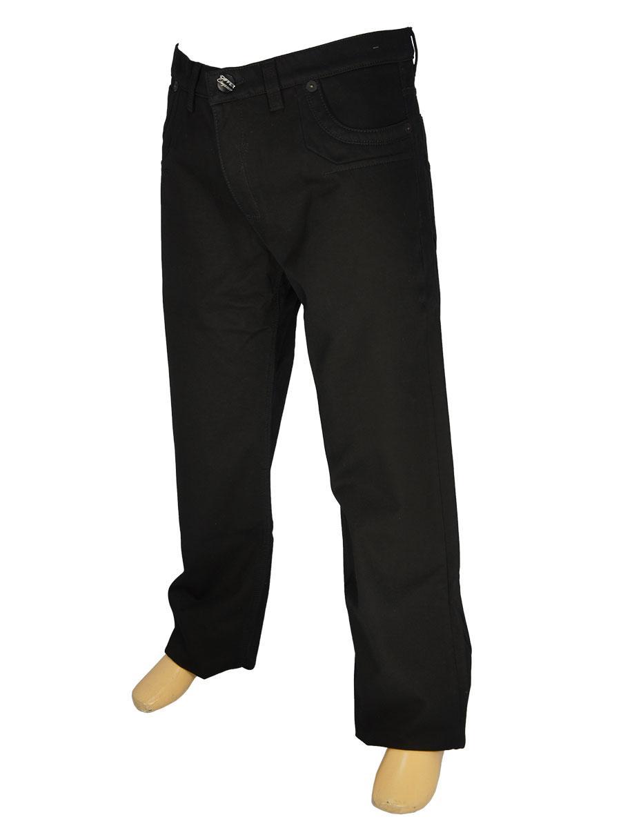 Мужские зимние джинсы Differ E-1266 SP.946-09 в черном цвете