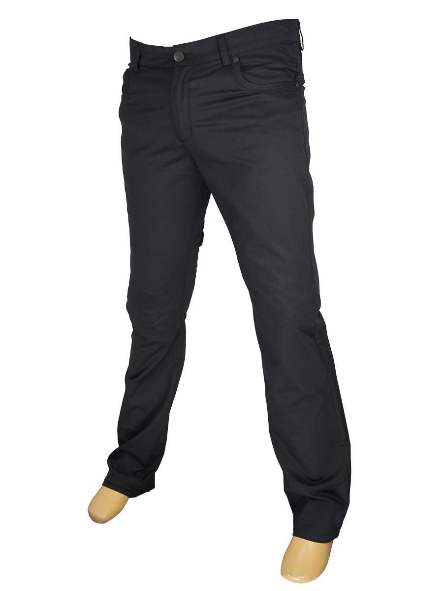 Классические мужские джинсы Mirac M:2407 P.N.285 в черном цвете