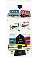 Набор капсул для женщин и мужчин HOT exxtr. в наборе 2x10 + 2x10 шт